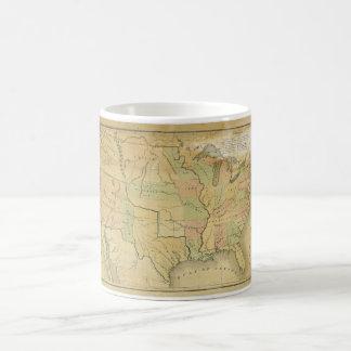 United States Including Western Territories 1848 Coffee Mug