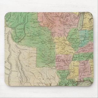 United States Map 2 Mouse Pad