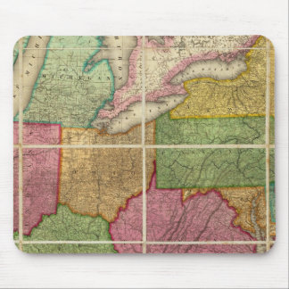 United States Map 4 Mousepads