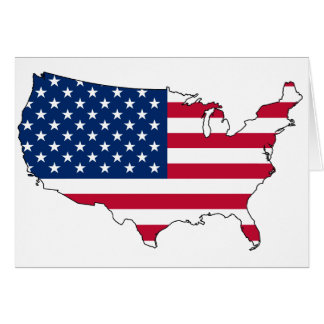 United States map US Card
