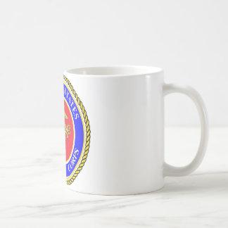United States Marine Corps Basic White Mug