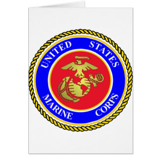 United States Marine Corps Greeting Card