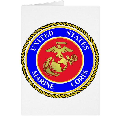 United States Marine Corps Greeting Card