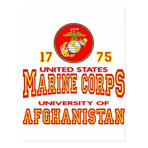 United States Marine Corps University Afghanistan Postcards