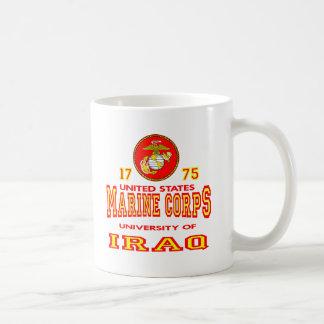 United States Marine Corps University Of Iraq Basic White Mug