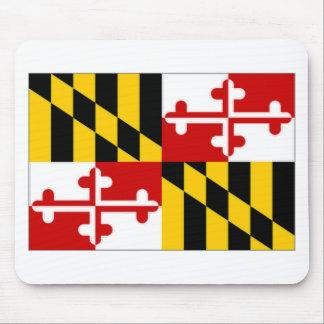 United States Maryland Flag Mousepads