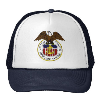 United States Merchant Marine Seal Sailors Cap