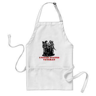 United States Military Veteran Standard Apron