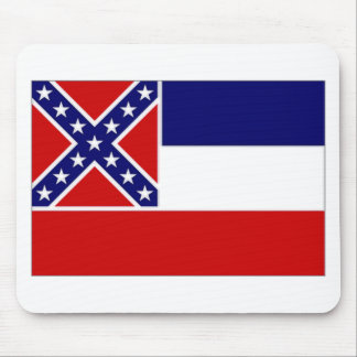 United States Mississippi Flag Mouse Pad