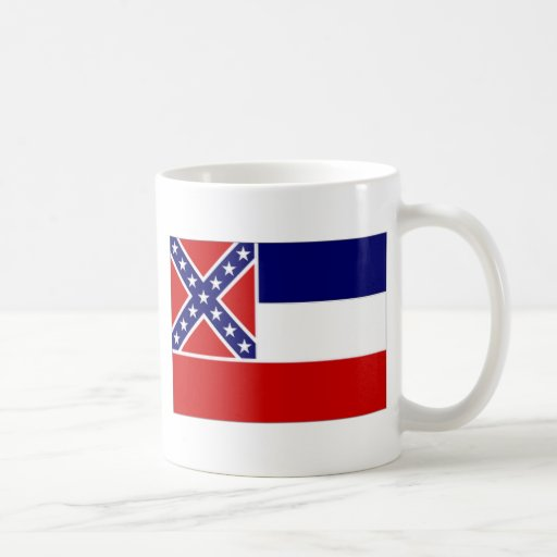 United States Mississippi Flag Coffee Mug