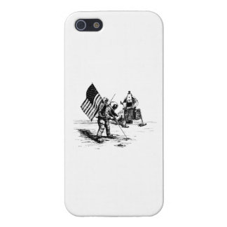 United States Moon Landing Cover For iPhone 5/5S