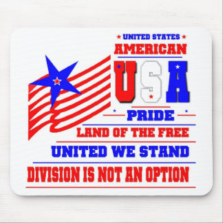 United States Mouse Pad