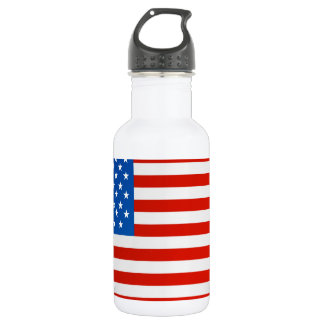 United states national flag 532 ml water bottle