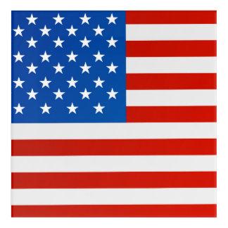 United states national flag acrylic print