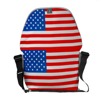 United states national flag courier bag
