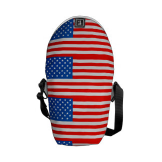 United states national flag messenger bag