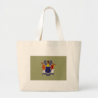 United States New Jersey Flag Tote Bag