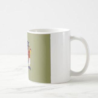 United States New Jersey Flag Coffee Mugs