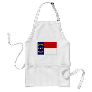 United States North Carolina Flag Aprons