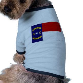 United States North Carolina Flag Pet Clothing