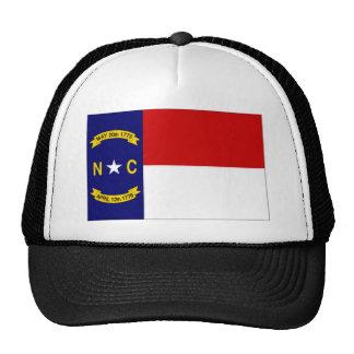 United States North Carolina Flag Hats