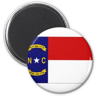 United States North Carolina Flag Fridge Magnets