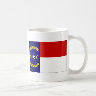 United States North Carolina Flag Mugs