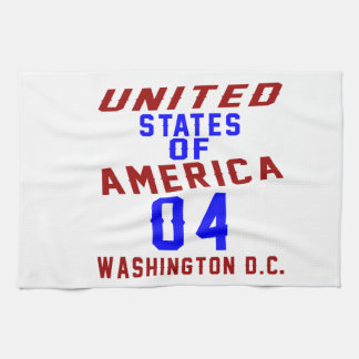 United States Of America 04 Washington D.C. Hand Towels