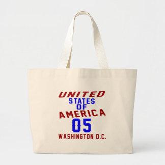 United States Of America 05 Washington D.C. Large Tote Bag