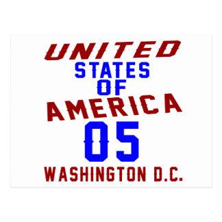 United States Of America 05 Washington D.C. Postcard