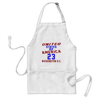 United States Of America 23 Washington D.C. Standard Apron