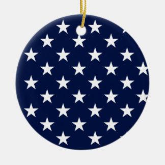 United States of America (3) Ceramic Ornament