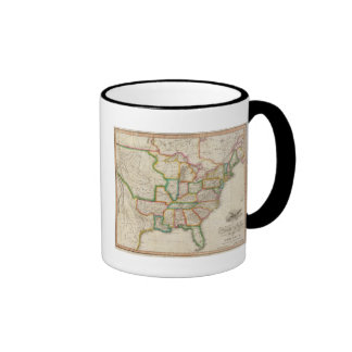 United States of America 4 Coffee Mugs