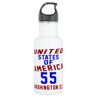 United States Of America 55 Washington D.C. 532 Ml Water Bottle