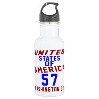 United States Of America 57 Washington D.C. 532 Ml Water Bottle