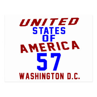 United States Of America 57 Washington D.C. Postcard