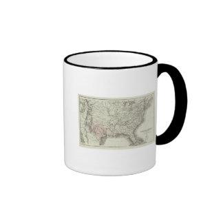 United States of America 6 Coffee Mugs