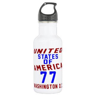United States Of America 77 Washington D.C. 532 Ml Water Bottle