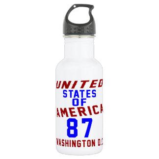 United States Of America 87 Washington D.C. 532 Ml Water Bottle