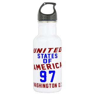 United States Of America 97 Washington D.C. 532 Ml Water Bottle