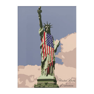 United States of America Acrylic Print