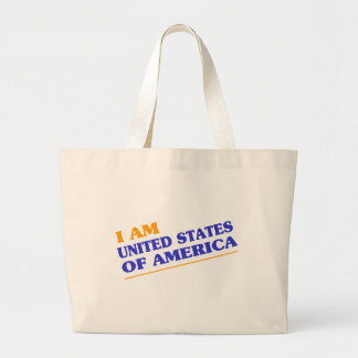 UNITED STATES OF AMERICA TOTE BAGS
