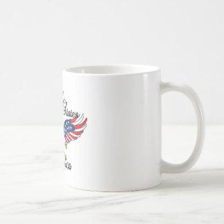 United States of America Basic White Mug
