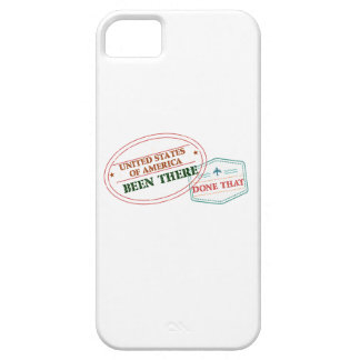 United States of America Been There Done That iPhone 5 Cover