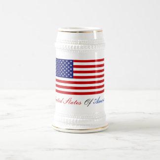 UNITED STATES OF AMERICA BEER STEINS