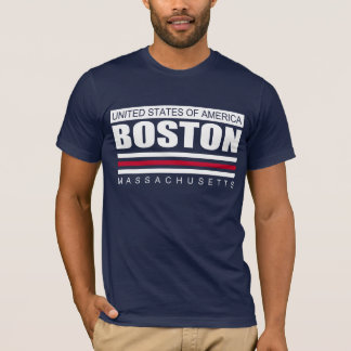 United States of America BOSTON MASSACHUSETTS Tee
