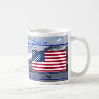 United States of America Commemorative Basic White Mug