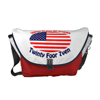 United States Of America Courier Bags