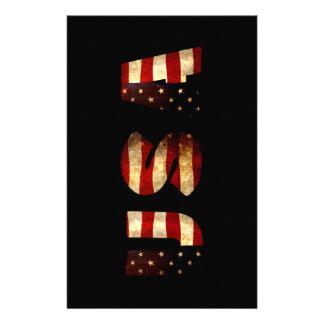 United States of America Customised Stationery