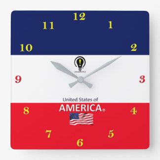 United States of America Designer Wall Clock